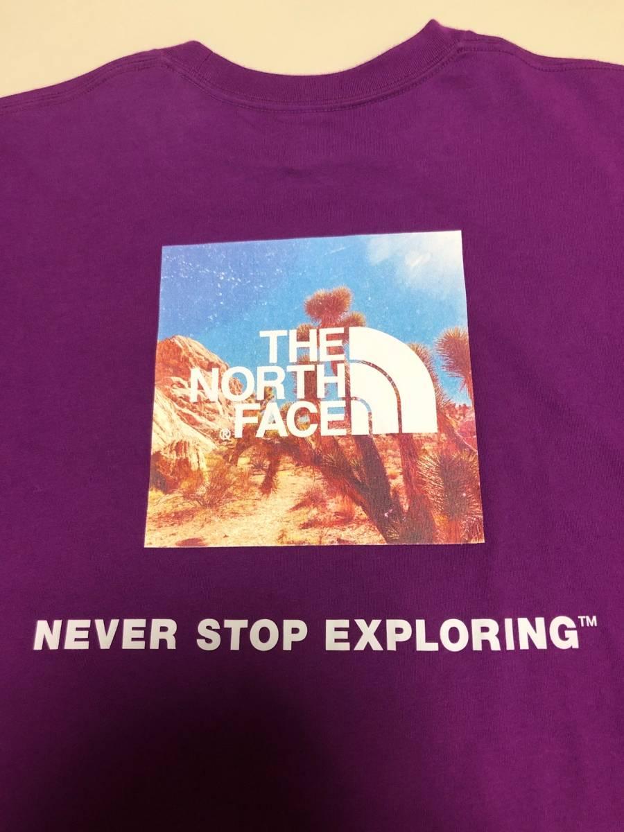 THE NORTH FACE ★ ザ・ノースフェイス ★ 背面スクエアロゴTシャツ ★ バックプリントTシャツ