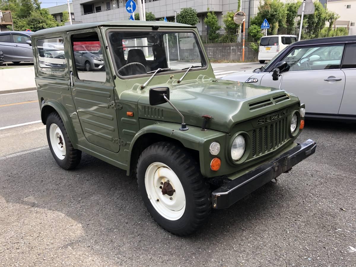 ジムニー 55 SJ10 4WD 2スト 売り切りです。