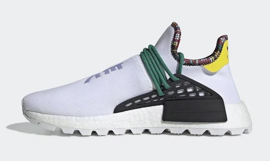 新品 adidas/アディダス PW SOLAR HU NMD【26.0】ホワイト_画像3