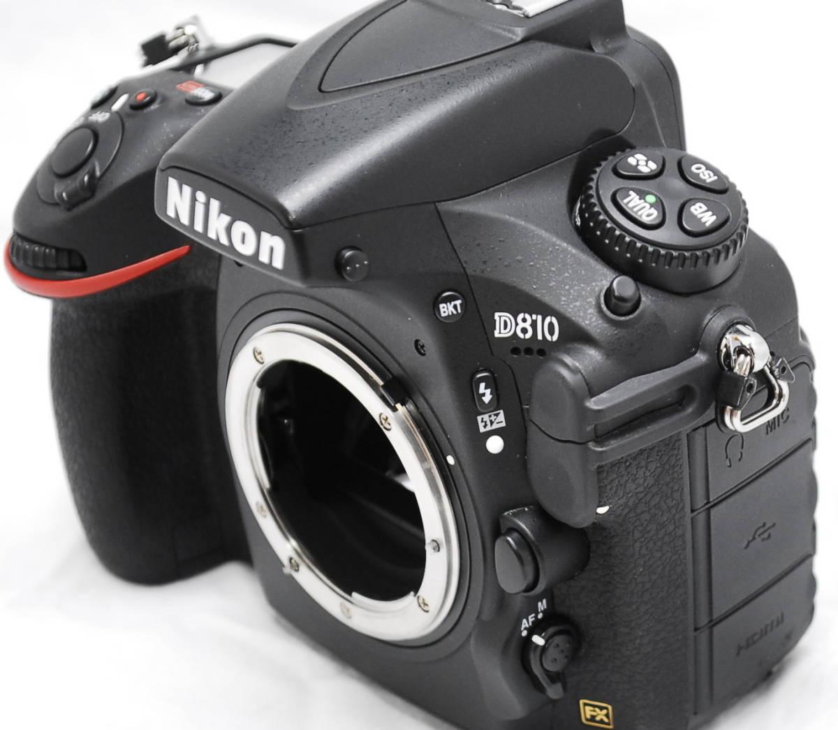 【良品・通電OK】Nikon ニコン D810 動作未確認 ジャンク扱い_画像4