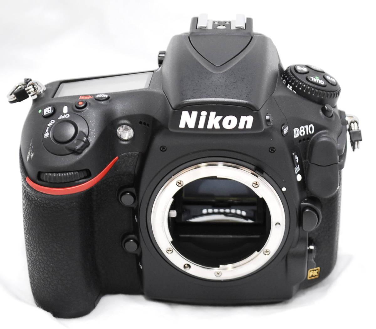 【良品・通電OK】Nikon ニコン D810 動作未確認 ジャンク扱い_画像2