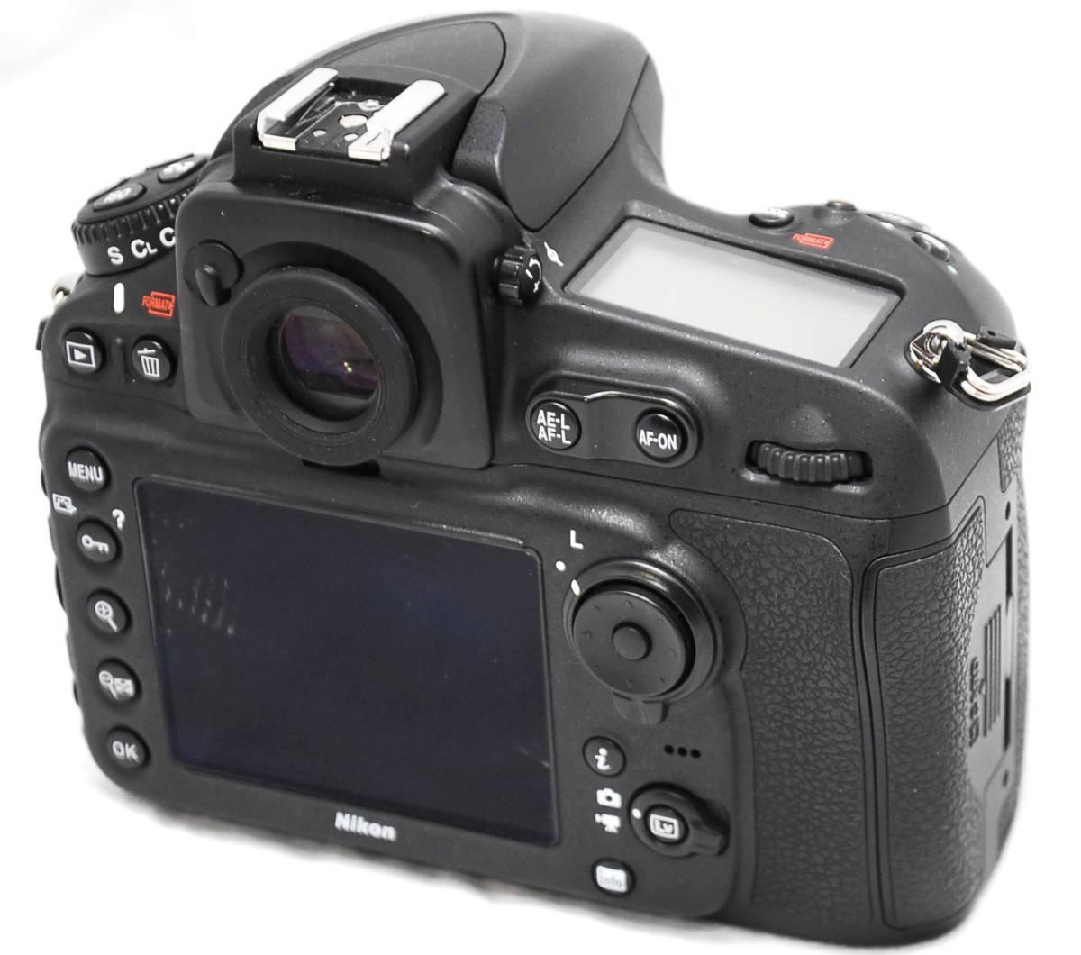 【良品・通電OK】Nikon ニコン D810 動作未確認 ジャンク扱い_画像3