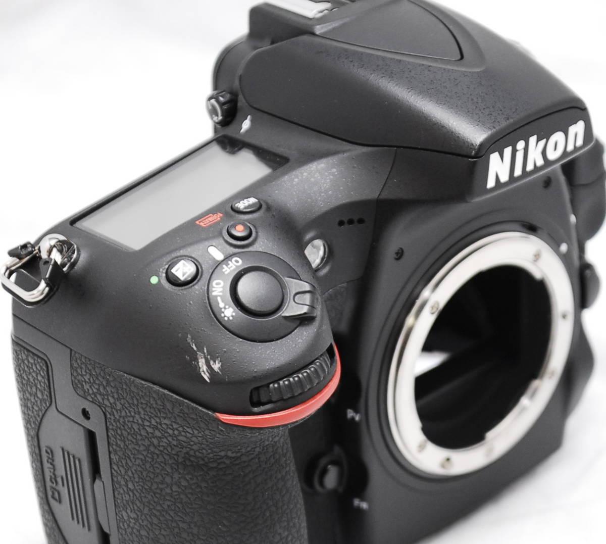 【良品・通電OK】Nikon ニコン D810 動作未確認 ジャンク扱い_画像5