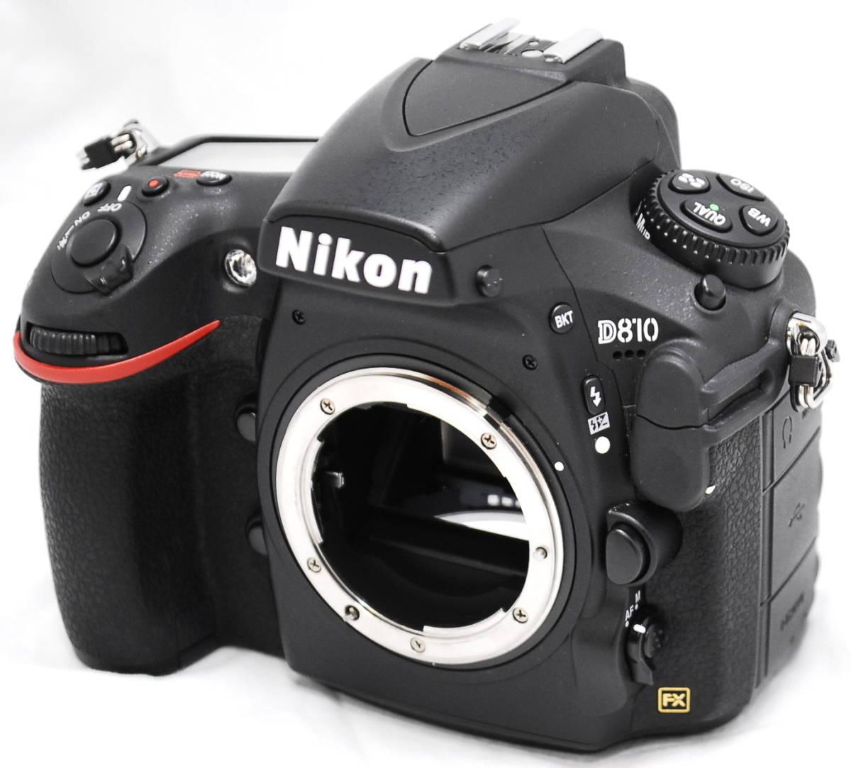 【良品・通電OK】Nikon ニコン D810 動作未確認 ジャンク扱い
