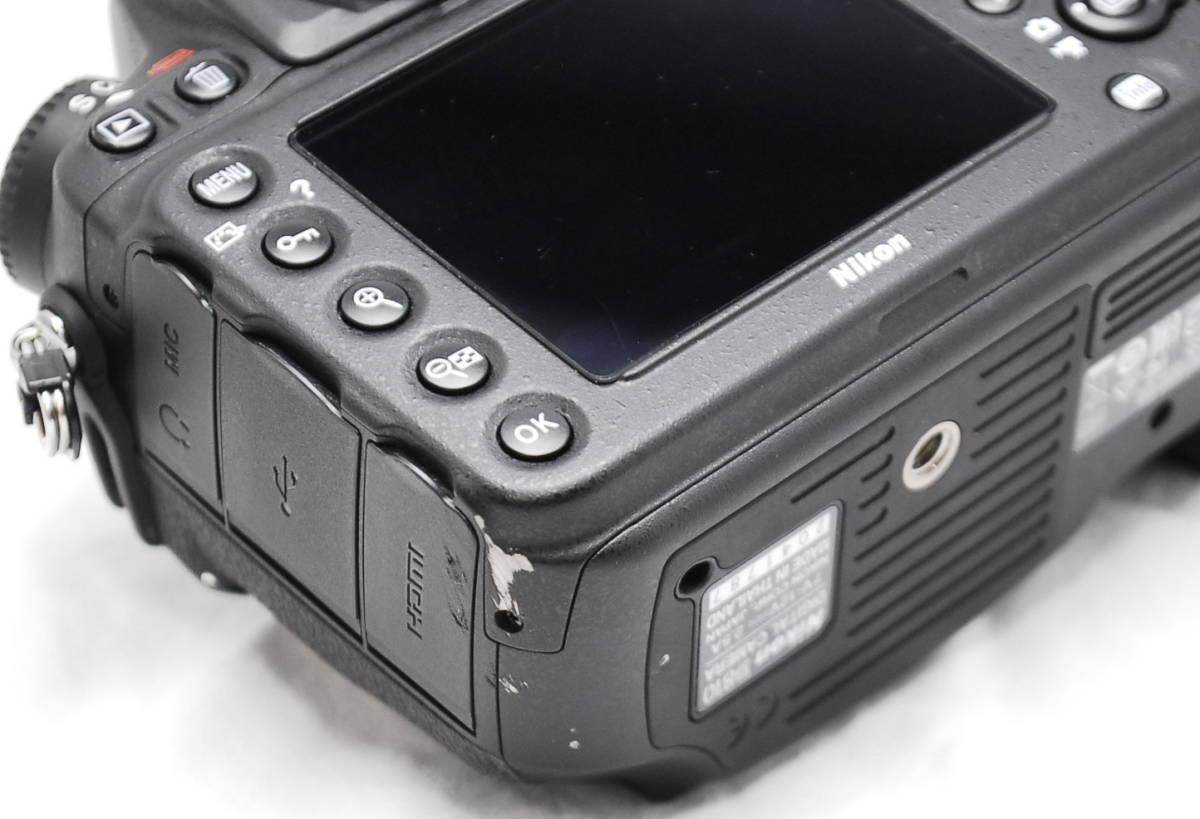 【良品・通電OK】Nikon ニコン D810 動作未確認 ジャンク扱い_画像10