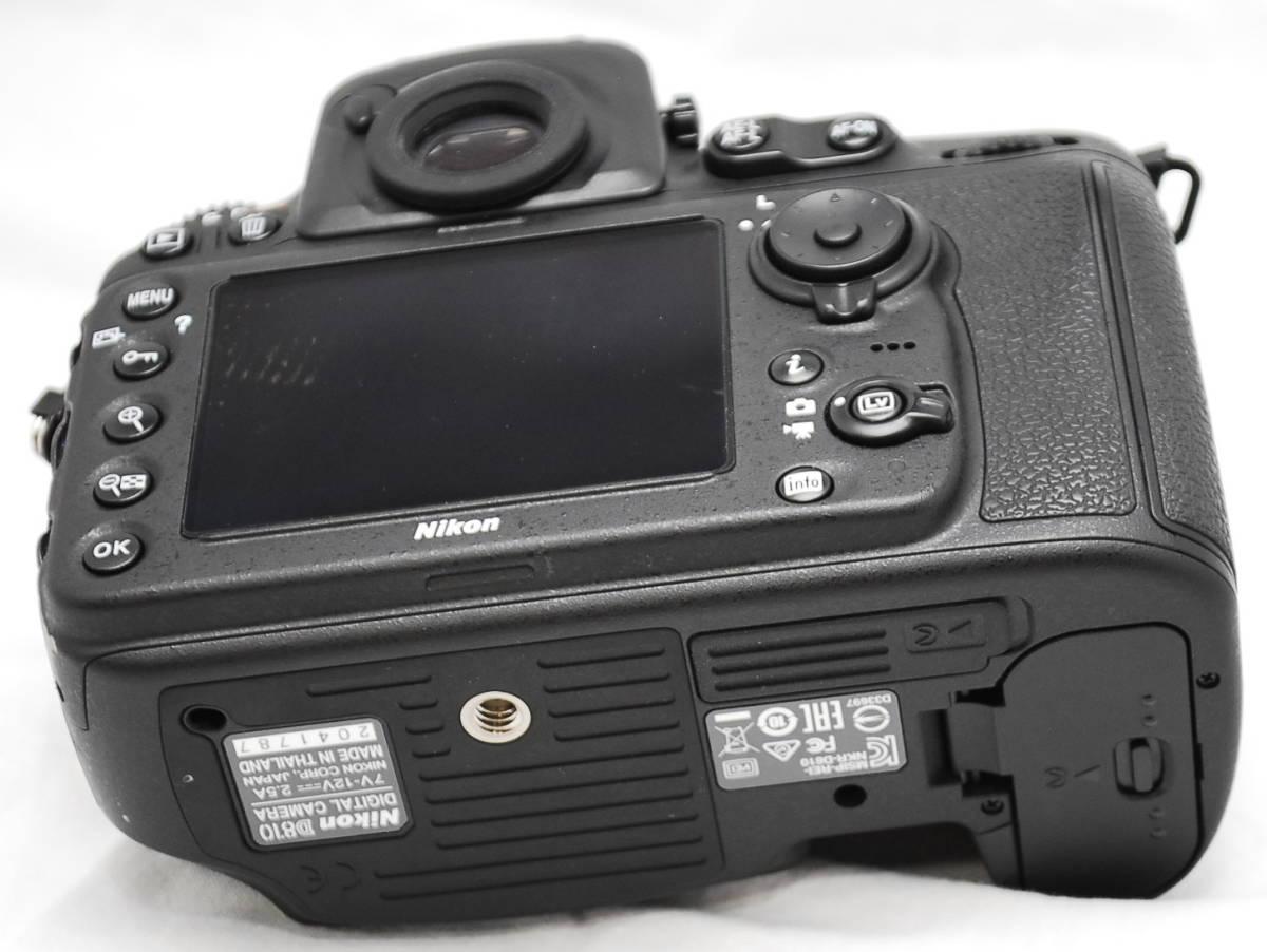【良品・通電OK】Nikon ニコン D810 動作未確認 ジャンク扱い_画像9