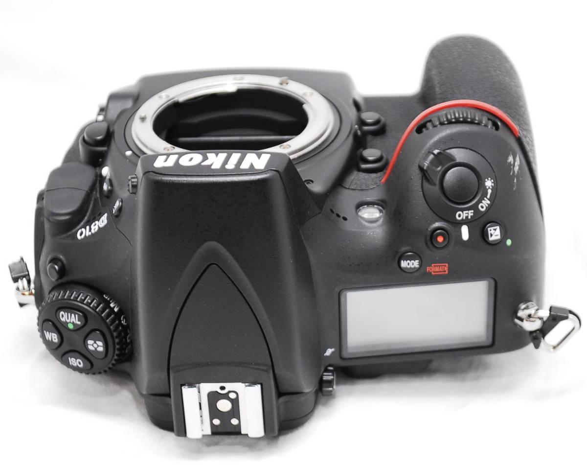 【良品・通電OK】Nikon ニコン D810 動作未確認 ジャンク扱い_画像8