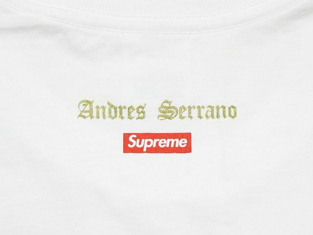 SUPREME シュプリーム 17AW Piss Christ Tee Tシャツ 白 Size【L】used_画像3