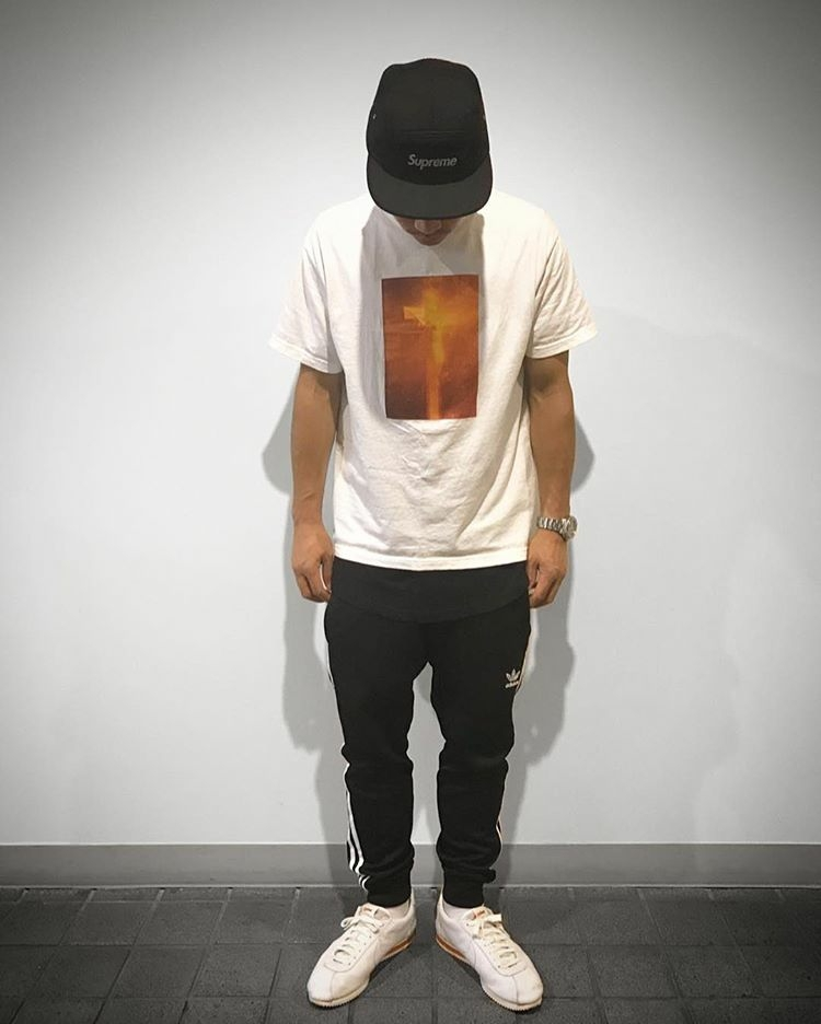 SUPREME シュプリーム 17AW Piss Christ Tee Tシャツ 白 Size【L】used_画像6