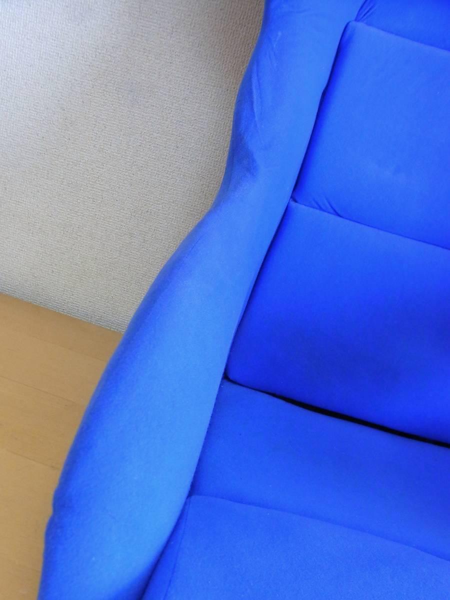 ノーブランド フルバケットシート 青 深めサポート 綺麗 送料安価に 検 SP-G ZETA_画像5