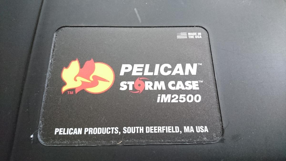 ペリカンケース ストームケースiM2500 中古品 pelican stome case 1510類似品_画像7