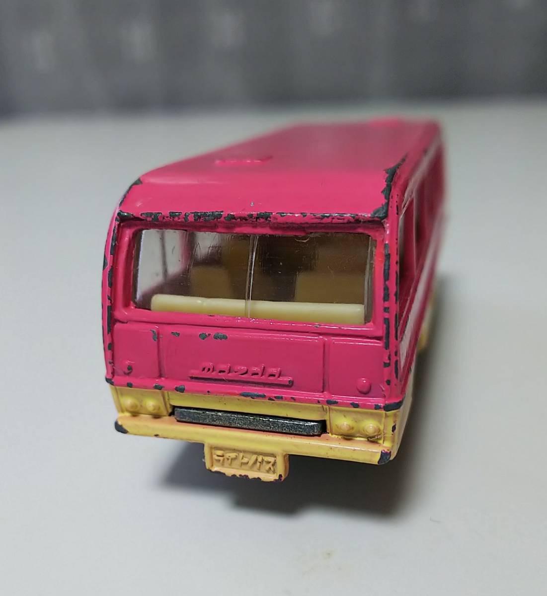 トミカ 46 マツダライトバス 旧ホイール 日本製 箱なし ジャンク 現状品 _画像5