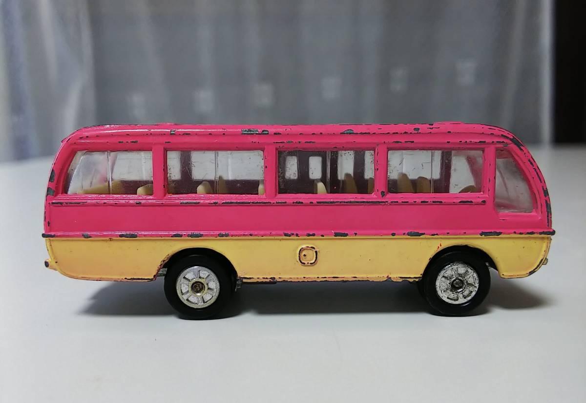 トミカ 46 マツダライトバス 旧ホイール 日本製 箱なし ジャンク 現状品 _画像4