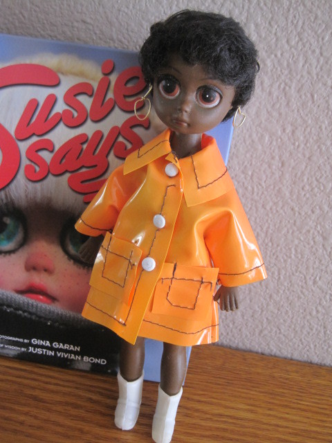ビンテージ*Susie Sad Eyes*1960年代*ソウルシスターズ*アウトフィット付きです♪_画像2