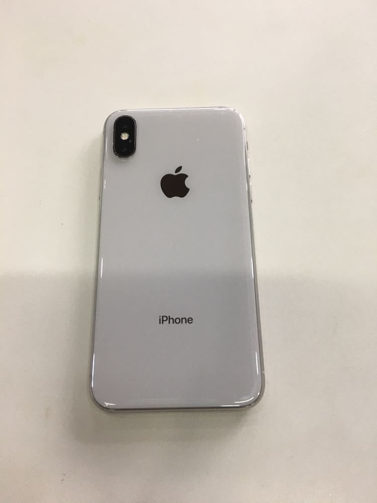 iPhone X SIMフリー 64GB シルバー 残債なしApple 送料無料_画像3