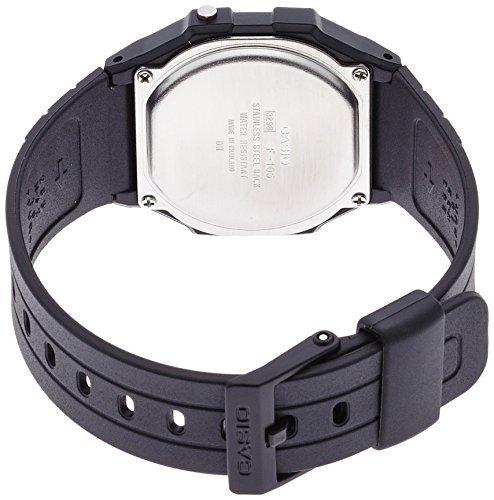 Fsd5502A 推奨 アイテム★NW IY[カシオ]CASIO 腕時計 ..スタンダード F-105W-1AJik qg Ne_画像4