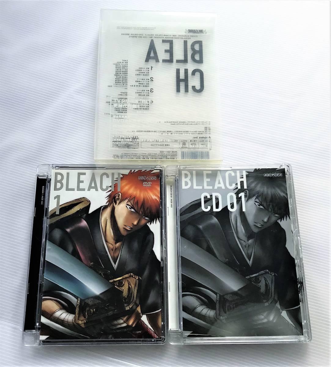 BLEACH 死神代行編 1 DVD & CD ブリーチ_画像4