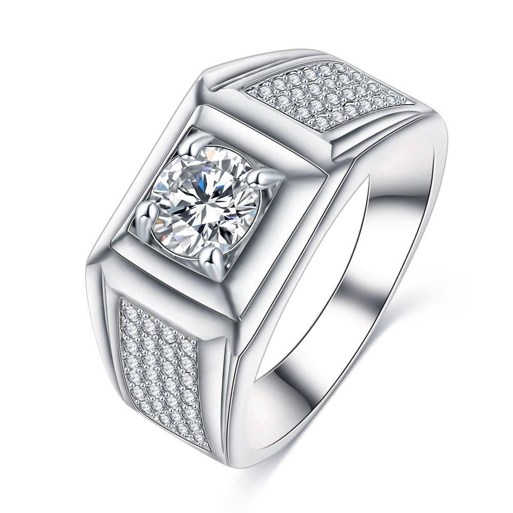 【特A品】【即日発送】※大粒 婚約指輪 トルマリンリング CZダイヤモンド入り 14号~19号 恋愛運 指輪 ホワイトゴールド 新品