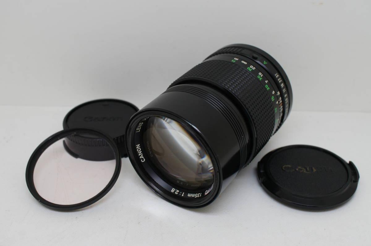 ☆中古良品☆Canon キヤノン FD 135mm F2.8 単焦点 望遠レンズ FDマウント