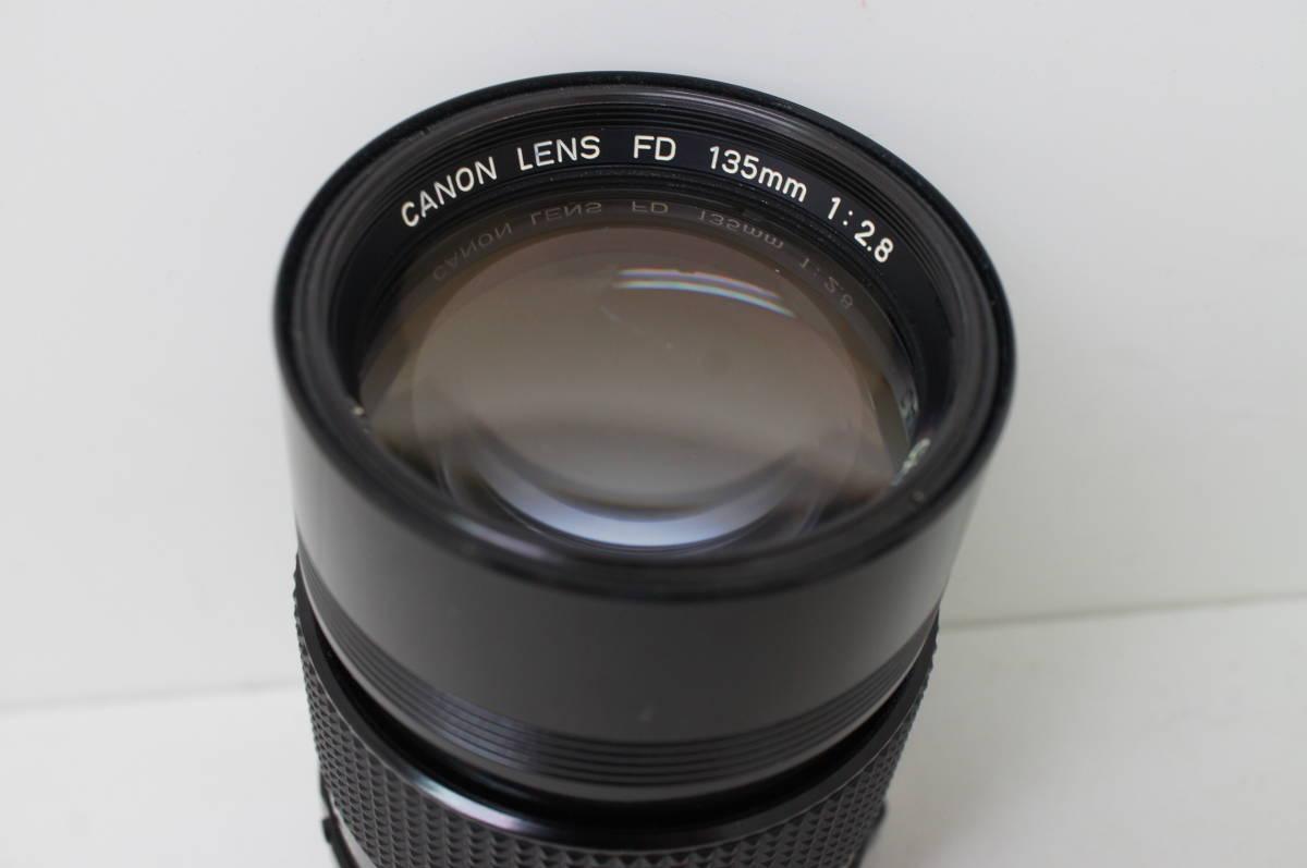 ☆中古良品☆Canon キヤノン FD 135mm F2.8 単焦点 望遠レンズ FDマウント_画像2