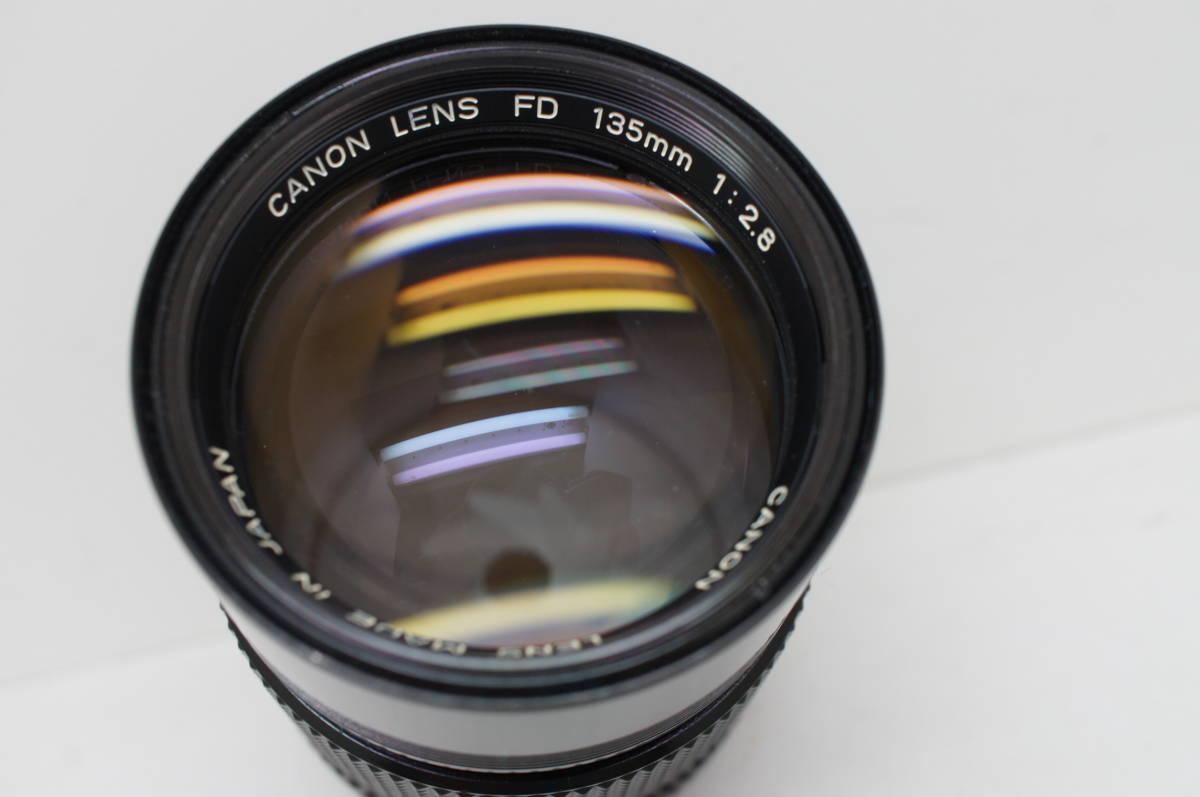 ☆中古良品☆Canon キヤノン FD 135mm F2.8 単焦点 望遠レンズ FDマウント_画像4