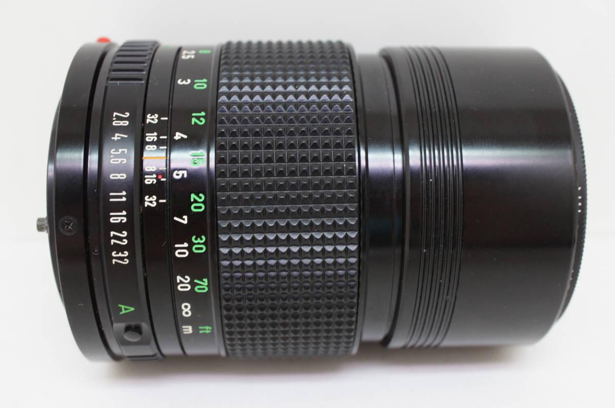 ☆中古良品☆Canon キヤノン FD 135mm F2.8 単焦点 望遠レンズ FDマウント_画像5