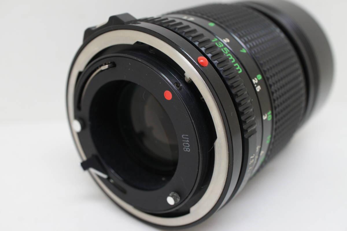 ☆中古良品☆Canon キヤノン FD 135mm F2.8 単焦点 望遠レンズ FDマウント_画像6