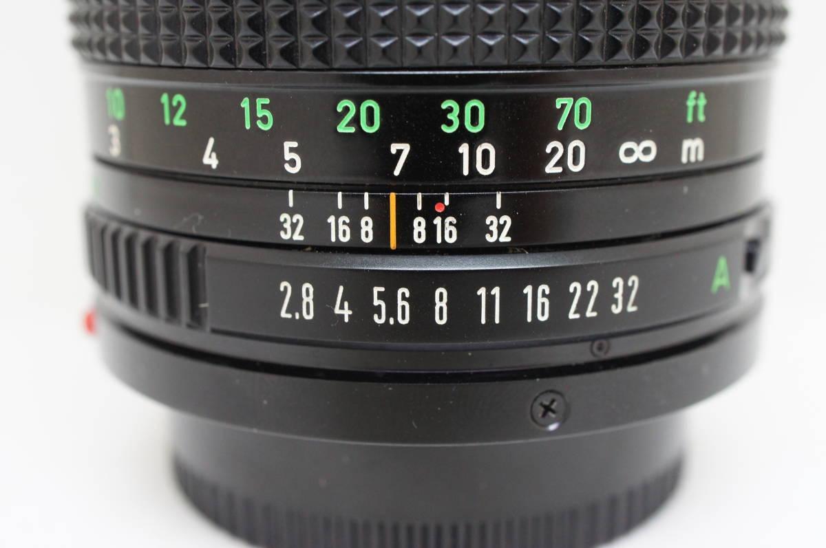 ☆中古良品☆Canon キヤノン FD 135mm F2.8 単焦点 望遠レンズ FDマウント_画像7