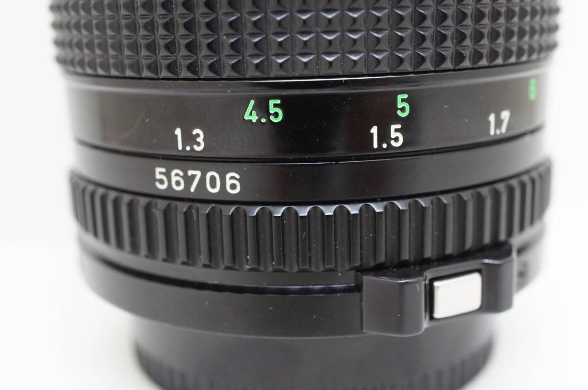 ☆中古良品☆Canon キヤノン FD 135mm F2.8 単焦点 望遠レンズ FDマウント_画像8
