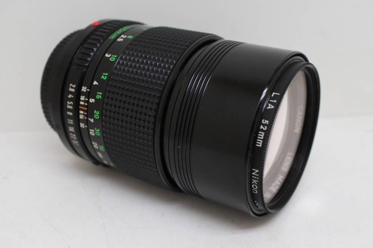 ☆中古良品☆Canon キヤノン FD 135mm F2.8 単焦点 望遠レンズ FDマウント_画像9