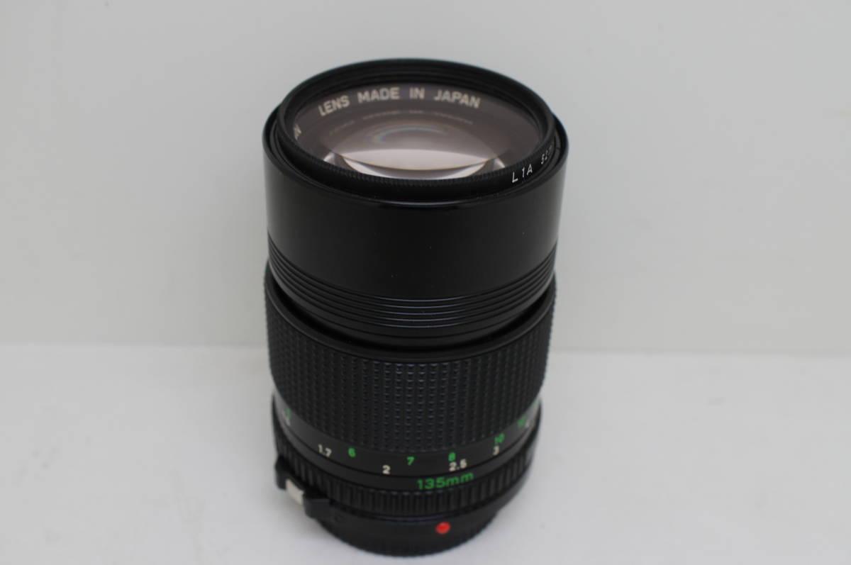 ☆中古良品☆Canon キヤノン FD 135mm F2.8 単焦点 望遠レンズ FDマウント_画像10