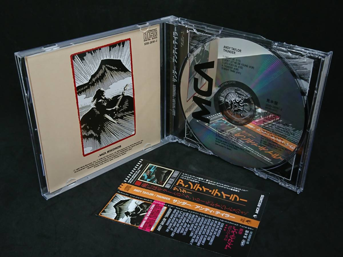 Andy Taylor アンディ・テイラー Thunder サンダー リマスター Remastered & Expanded edition ファンクラブ_画像2