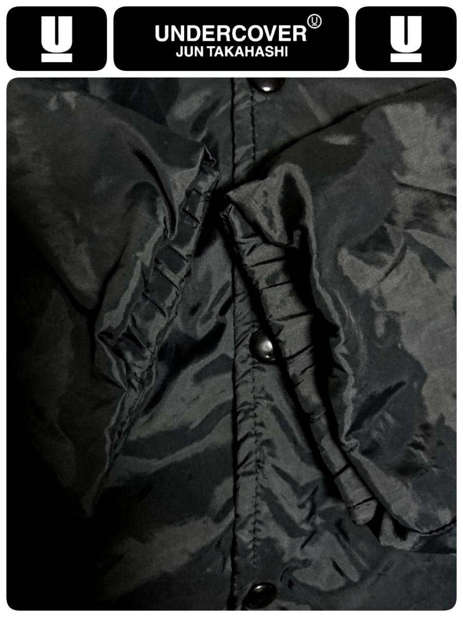 超稀少 90S UNDER COVER アンダーカバー 最初期 United Sports社USA製ボディ ヴィンテージ uロゴプリントナイロンコーチジャケット L 良品_画像9
