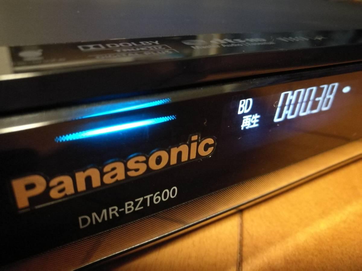 ◆◆ [ 500GB → 4TB 新品HDD 換装済 ]Panasonic DIGA DMR-BZT600 美品・取説コピー、各種ケーブル・動作品 [送料無料]