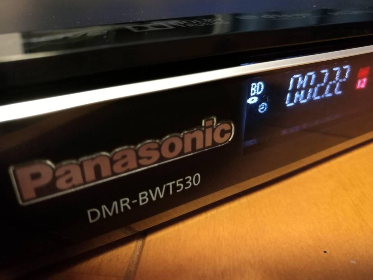 ◆◆ [ 500GB → 6TB 新品HDD 換装済 ]Panasonic DIGA DMR-BWT530 取説コピー、各種ケーブル付・動作品 [送料無料]