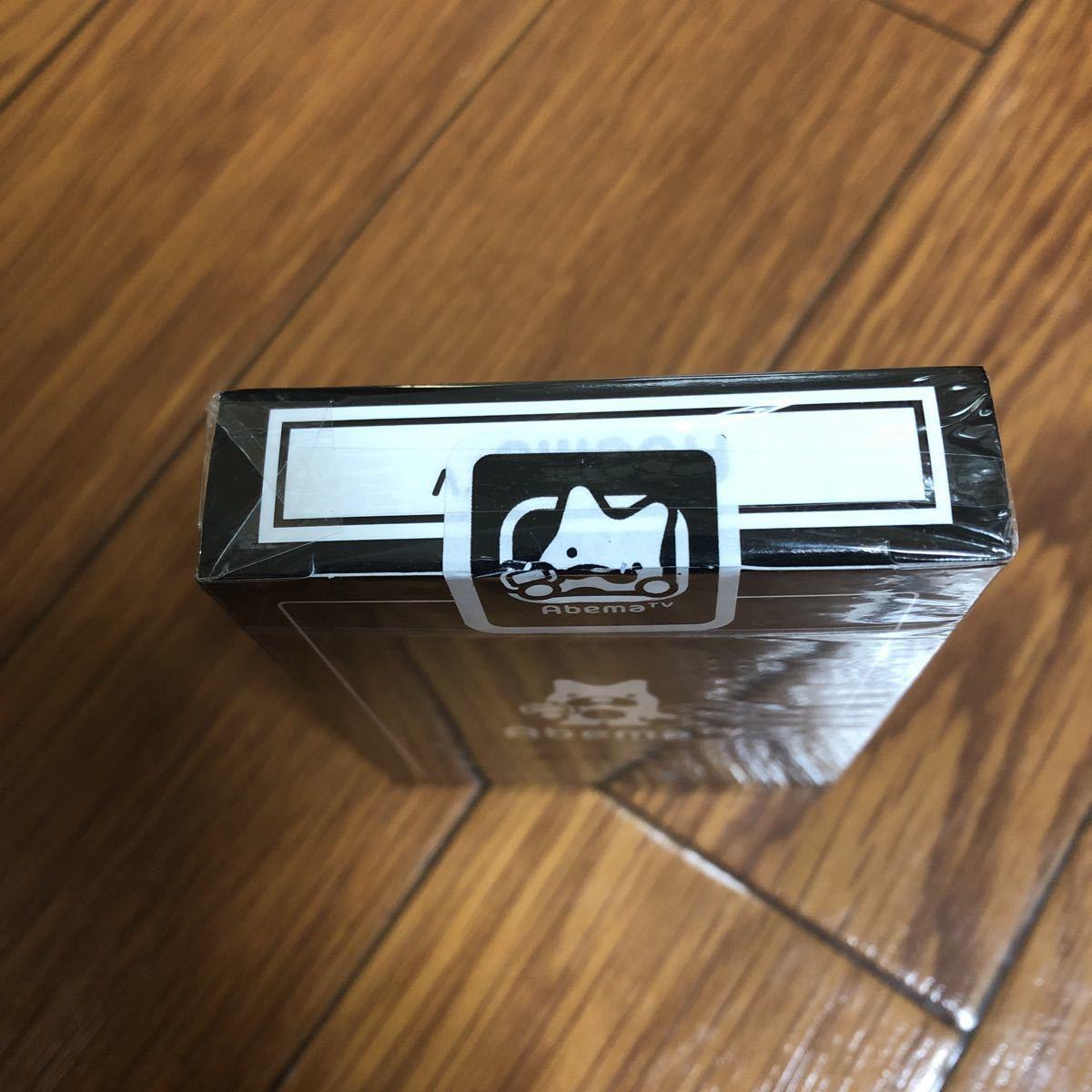 未開封 BICYCLE Abema TVオリジナル トランプPlaying Cards デック バイスクル DECK 手品 マジック_画像3