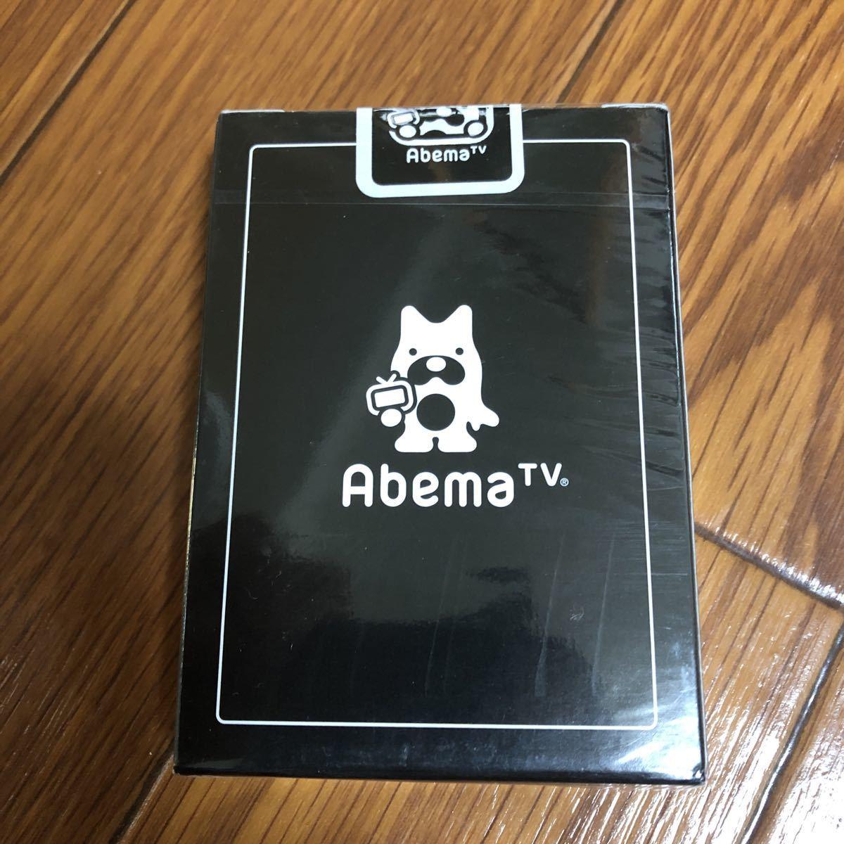 未開封 BICYCLE Abema TVオリジナル トランプPlaying Cards デック バイスクル DECK 手品 マジック_画像2