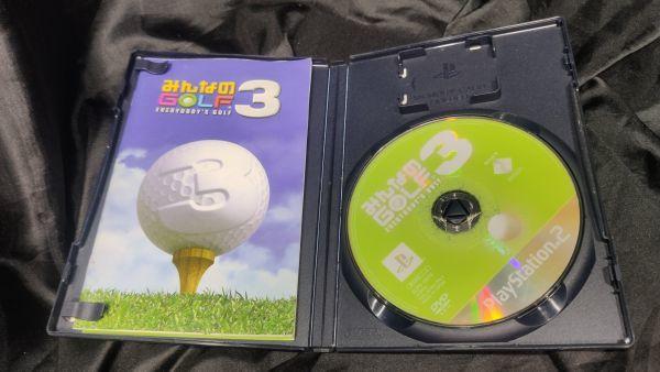 PS2 みんなのGOLF3 クリックポストで4本まで同梱可 PS2Y_画像2