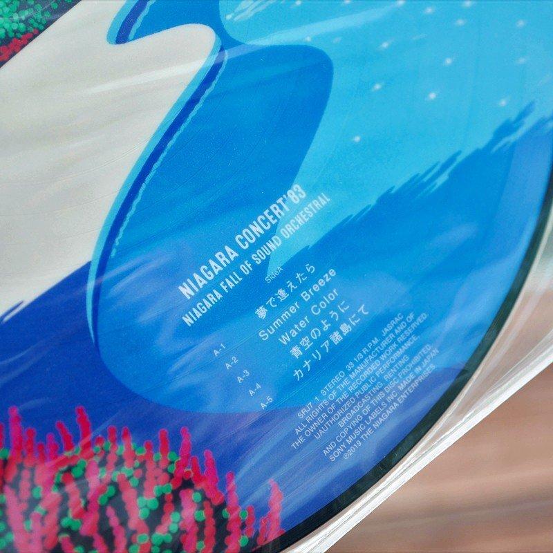 即決 未開封品 大滝詠一 NIAGARA CONCERT '83 Complete Set CD&DVD(初版)+完全生産限定版LP2種(ポストカード 付)(ピクチャーLP)_ピクチャーLPのA面の曲目です