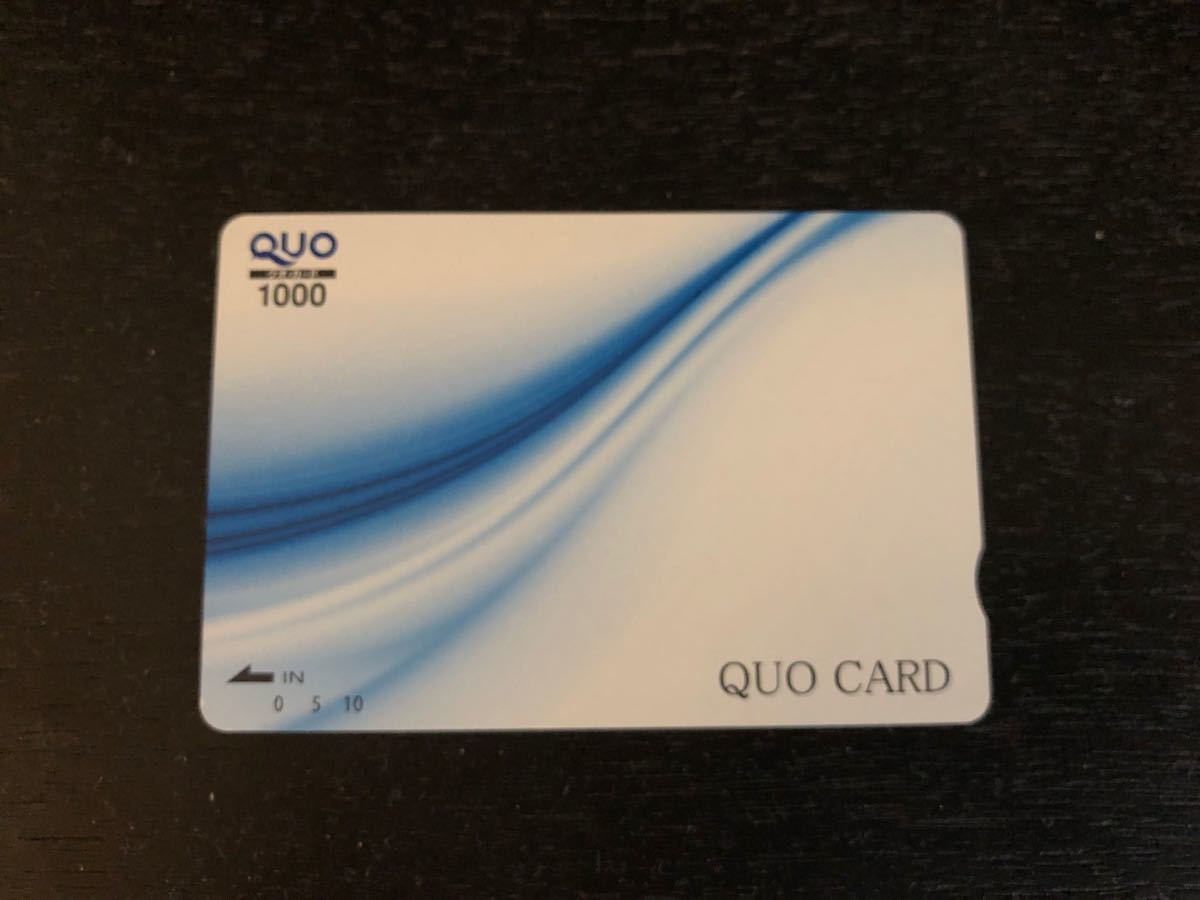【送料無料】QUOカード 1,000円分