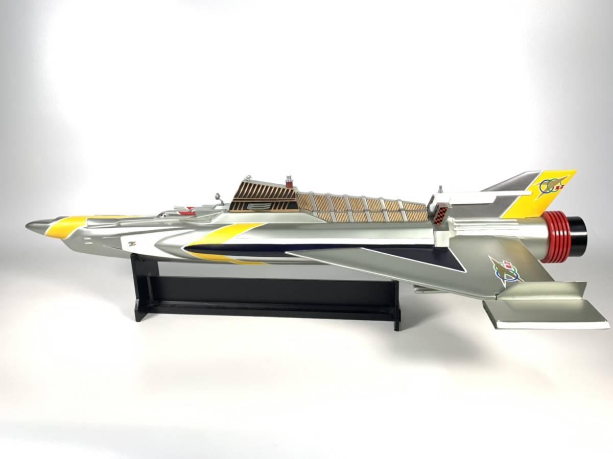 E873 完成品 アートストーム ビッグスケール 万能戦艦マイティジャック号 ヒューチャーモデルズ プロップタイプ 全長70cm レジン製 円谷_画像3