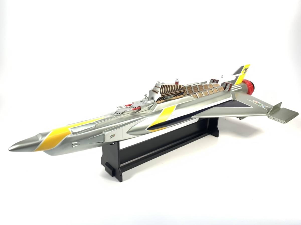 E873 完成品 アートストーム ビッグスケール 万能戦艦マイティジャック号 ヒューチャーモデルズ プロップタイプ 全長70cm レジン製 円谷