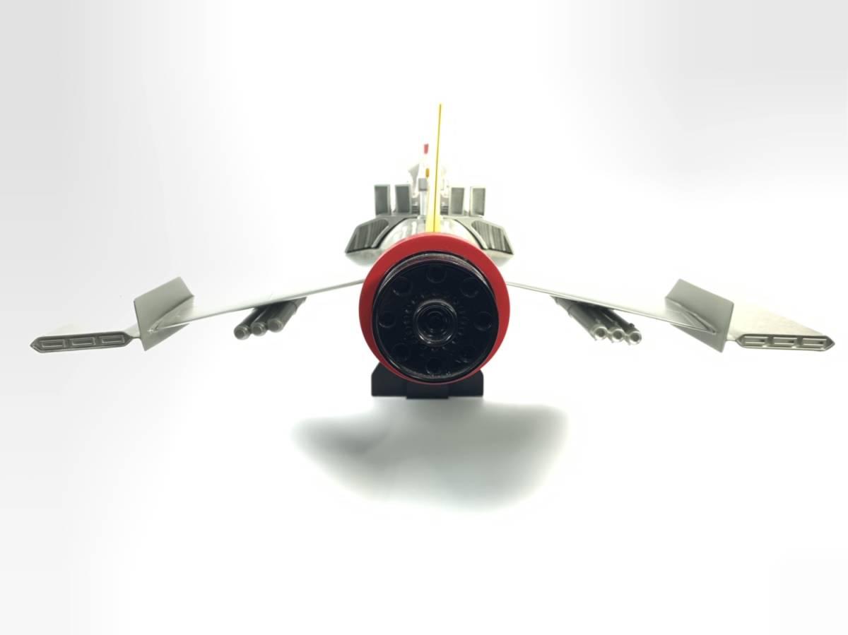 E873 完成品 アートストーム ビッグスケール 万能戦艦マイティジャック号 ヒューチャーモデルズ プロップタイプ 全長70cm レジン製 円谷_画像5