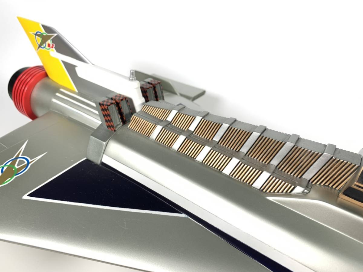 E873 完成品 アートストーム ビッグスケール 万能戦艦マイティジャック号 ヒューチャーモデルズ プロップタイプ 全長70cm レジン製 円谷_画像7