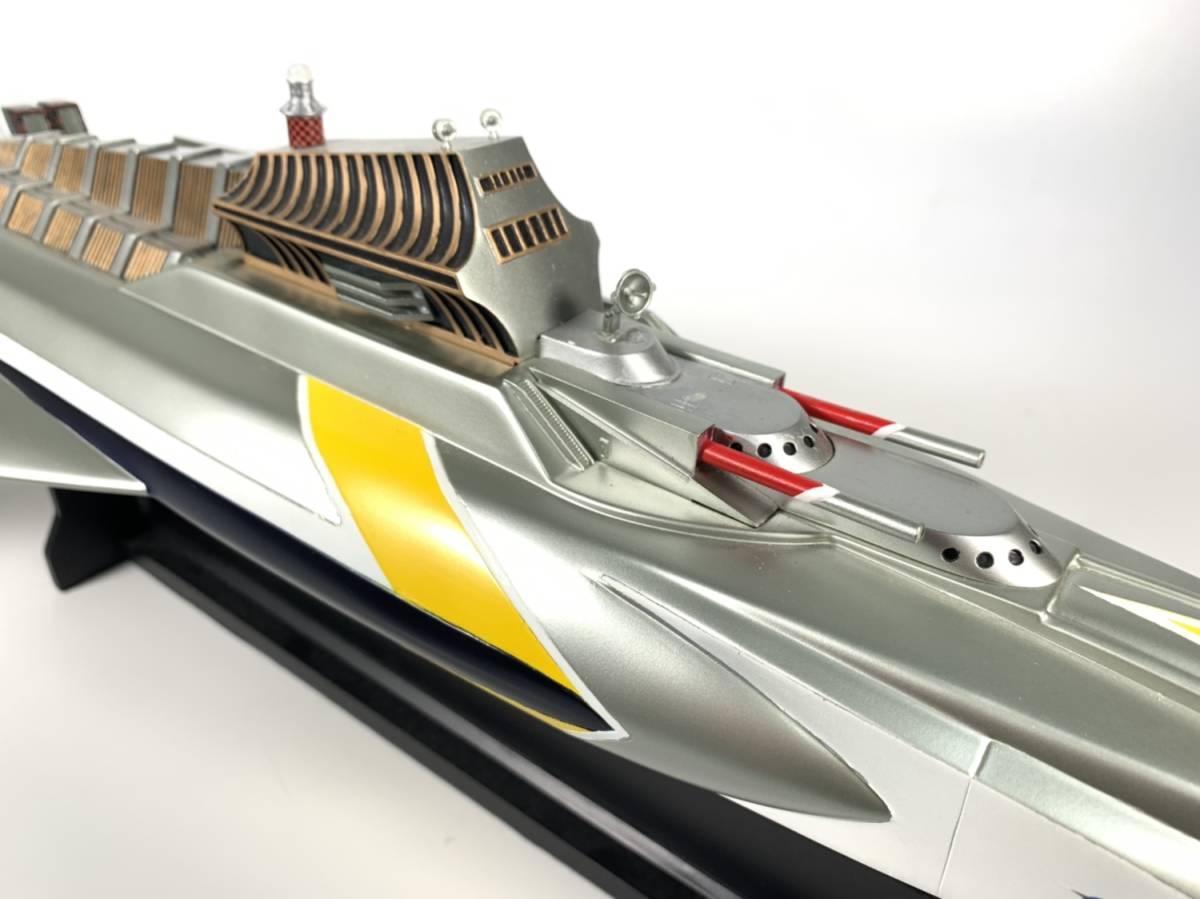 E873 完成品 アートストーム ビッグスケール 万能戦艦マイティジャック号 ヒューチャーモデルズ プロップタイプ 全長70cm レジン製 円谷_画像6