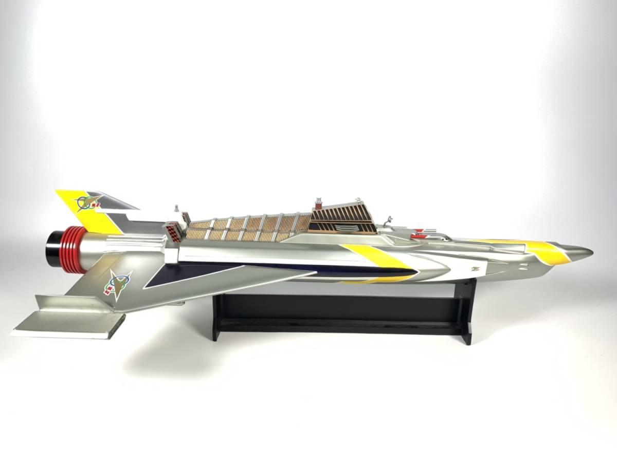 E873 完成品 アートストーム ビッグスケール 万能戦艦マイティジャック号 ヒューチャーモデルズ プロップタイプ 全長70cm レジン製 円谷_画像4