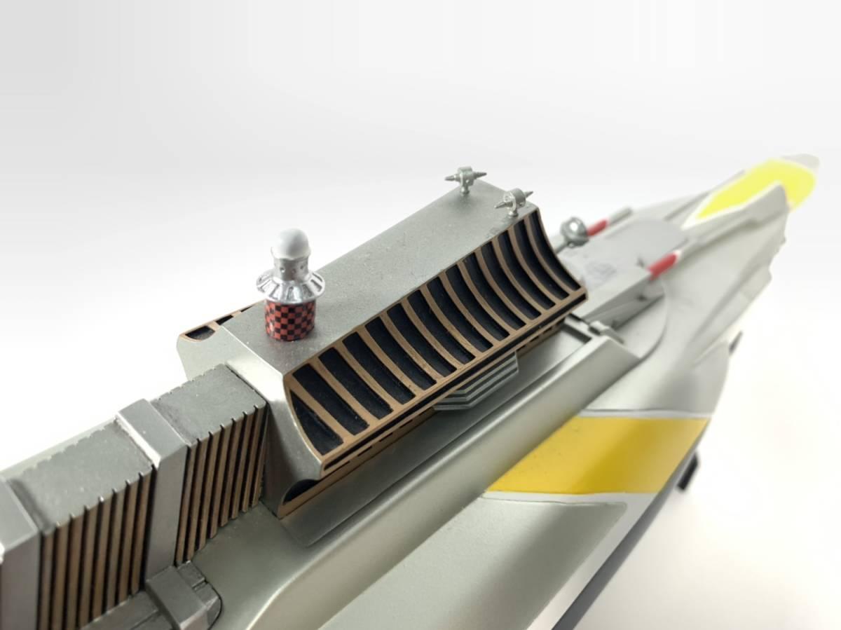 E873 完成品 アートストーム ビッグスケール 万能戦艦マイティジャック号 ヒューチャーモデルズ プロップタイプ 全長70cm レジン製 円谷_画像9