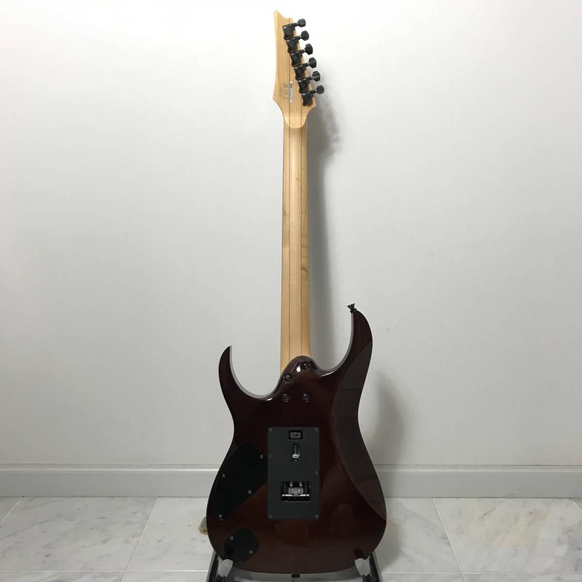 希少 美品 Ibanez J.custom RG7570Z Bright Brown Rutile 付属品 専用ハードケース付 日本製 アイバニーズ エレキギター GOTOHペグ 最高峰_画像7
