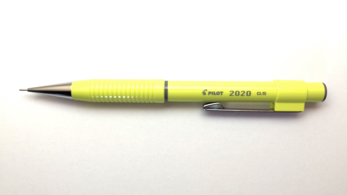 ■パイロット PILOT 2020 製図用シャープペンシル 0.5mm イエロー 黄色 新品●即日発送 送料120円-_画像2