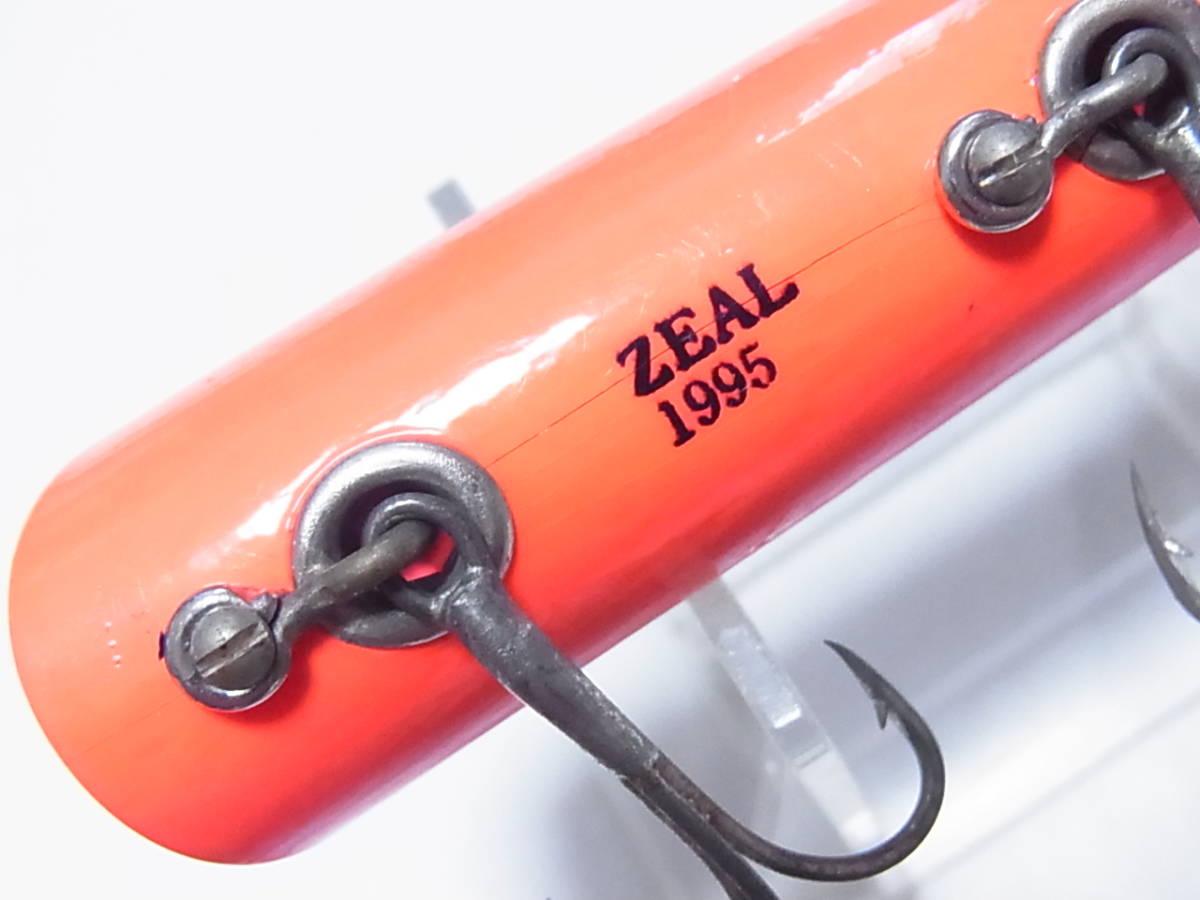1995 ズイール ZEAL アンカニーチャップ 5/8oz class Lリグ ピンアイ 紫赤腹 実釣に_画像9